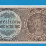 Moravia Boemia 1 krone koruna 1940 UNC