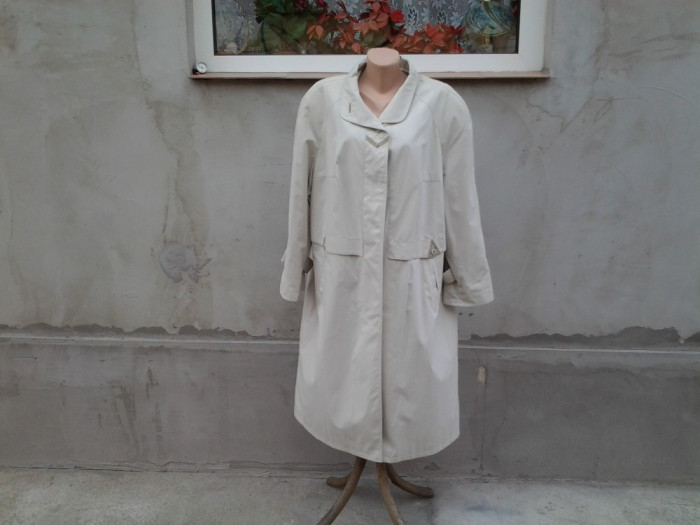 Karner Collection - palton pardesiu lung mar. 48 / XL