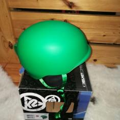 Casca ski snowboard K2 Rival Marime L/XL circumferinta 59-62 - Casca snowboard