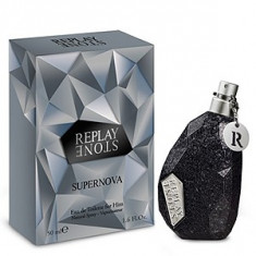 Replay Stone Supernova For Him EDT 50 ml pentru barbati - Parfum barbati Replay, Apa de toaleta
