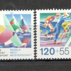 Germania.1987 Sprijin ptr. sport-Competitii sportive SG.564 - Timbre straine, Nestampilat