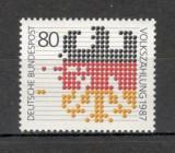Germania.1987 Recensamintul  SG.563, Nestampilat