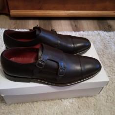OFERTA! Pantofi Versace V19 69 Originali Noi in cutie - Pantofi barbati Versace, Marime: 44, Culoare: Maro
