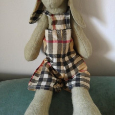 Jucarie de fetru realitaza manual (handmade), iepure, iepuras, 36cm, deosebit