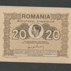 ROMANIA 20 LEI 1945, XF++ [2] P-77 - Bancnota romaneasca