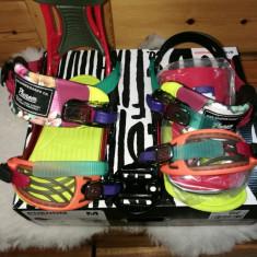 Legaturi snowboard Ride Phenom JR FRANKEN (2015) marime M - Boots snowboard