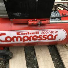 Compresor EINHELL 40l+furtun - Compresor electric