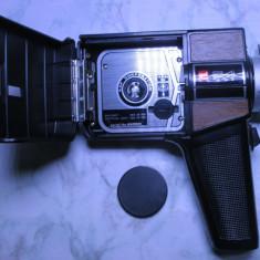 Camera aparat filmat super 8 mm japonez vechi 1970 GAF 64 functional