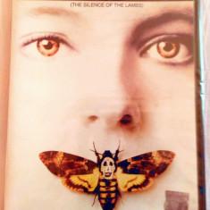 TĂCEREA MIEILOR (THE SILENCE OF THE LAMBS) [1991] (ORIGINAL, SIGILAT, ROMÂNĂ) - Film thriller, DVD, Romana
