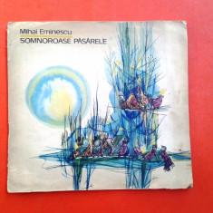 SOMNOROASE PASARELE Mihai Eminescu ilustratii de Ligia Macovei - Carte poezie copii