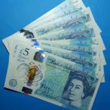 Anglia 5 pounds 2015 2016 UNC - bancnota europa