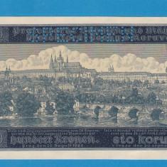 Moravia Boemia 100 kronen korun 1940 UNC SPECIMEN - bancnota europa