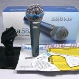 Microfon profesional SHURE Beta 58A - Cu fir