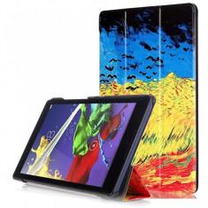 Husa Premium Slim MultiColor pentru tableta Lenovo Tab2 A8-50 - Husa Tableta Oem