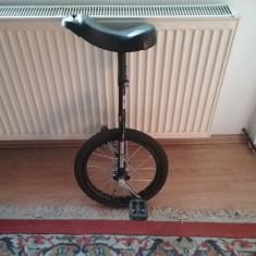 Bicicleta - monociclu - Bicicleta electrice, 17 inch, 16 inch, Numar viteze: 1