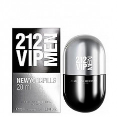 Carolina Herrera 212 VIP Men New York Pills - EDT 20 ml pentru barbati, Apa de parfum