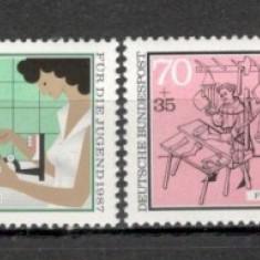 Germania.1987 Pentru tineret-Meserii SG.568 - Timbre straine, Nestampilat