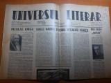 Ziarul universul literar 20 ianuarie 1944-articol despre nicolae iorga, Nicolae Iorga