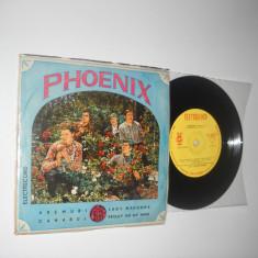 Phoenix : Vremuri/Canarul, etc. (vinil EP cu 4 piese, stare foarte buna VG) - Muzica Rock electrecord