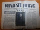 ziarul universul literar 16 mai 1942-articol despre lucian blaga