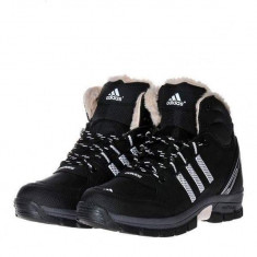 Bocanci Adidas Outdoor - Bocanci barbati Adidas, Marime: Alta, Culoare: Negru