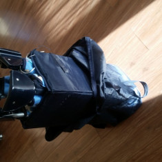 PATUT copil portabil - Patut pliant bebelusi, 120x60cm, Albastru