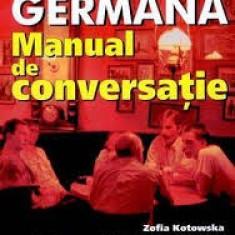 Kotowska Szaka Limba germana Manual de conversatie -teora - Curs Limba Germana