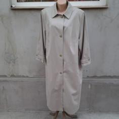 Goldix - palton pardesiu lung mar. 48 / XL