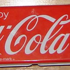 Cutie metalica Coca Cola - Cutie Reclama
