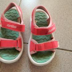 Sandale, sandalute de joaca pt fetite, marimea 30, marca Lotto, roz fluorescent - Sandale copii, Culoare: Din imagine, Fete