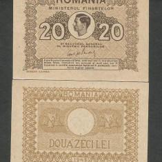 ROMANIA 20 LEI 1945 UNC [1] P-77, necirculata - Bancnota romaneasca