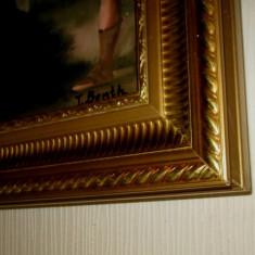 tablou nud scena cu ingeri superba