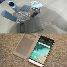 Full pachet lg g5 - Telefon LG, Galben, Neblocat