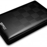 HDD extern Silicon Power Diamond D03 (SP500GBPHDD03S3K) 500GB 2.5 USB 3.0 negru