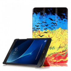 Husa Tableta Oem Premium Book Slim Multicolor Samsung Galaxy Tab A T585, 10.1