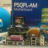 Placa Baza Asus P5QPL-AM + Procesor Intel Core2Duo E7500 + Sursa 500W