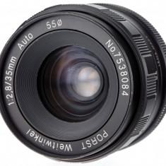 M42 Porst 35mm F2.8 sn 7538084 - Obiectiv DSLR Porst, Wide (grandangular), Manual focus, Nikon FX/DX