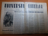 ziarul universul literar 10 august 1944-art. despre  lucian blaga si balzac