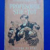 Profesorul Stie Tot - Sdravco Srebov / R6P5F