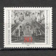 Germania.1987 300 ani nastere B.Neumann-arhitect SG.561 - Timbre straine, Nestampilat