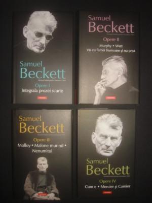 SAMUEL BECKETT - OPERE  4 volume, stare impecabila foto