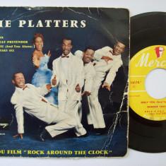 Disc vinil THE PLATTERS - My prayer (format mic 7