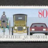 Germania.1986 100 ani automobilul SG.534 - Timbre straine, Nestampilat