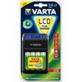 Încărcător Varta LCD USB Plug + 4buc. acumulatoare 2100mAh Ready2use - Baterie auto