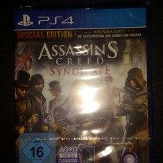 Joc original, sigilat, Assasin's Creed® SYNDICATE - SPECIAL EDITION - Assassins Creed 4 PS4 Ubisoft, Single player