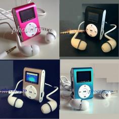 MP3 PLAYER RADIO FM, Argintiu, Display, FM radio
