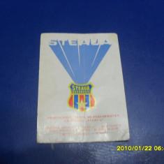Calendar Steaua 1982