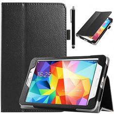 Husa Premium protectie pentru Samsung Galaxy Tab 4 T230, black - Husa Tableta Oem