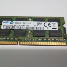 Memorie RAM DDR3 laptop SAMSUNG 8GB 2Rx8 PC3L 12800 la viteza 1600 Mhz - Memorie RAM laptop
