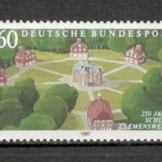 Germania.1987 250 ani castelul Clemenswerth SG.565 - Timbre straine, Nestampilat